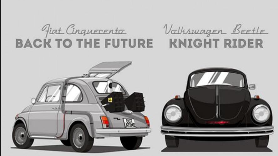 """Le auto """"normali"""" degli eroi sono #unconventionalheroes"""