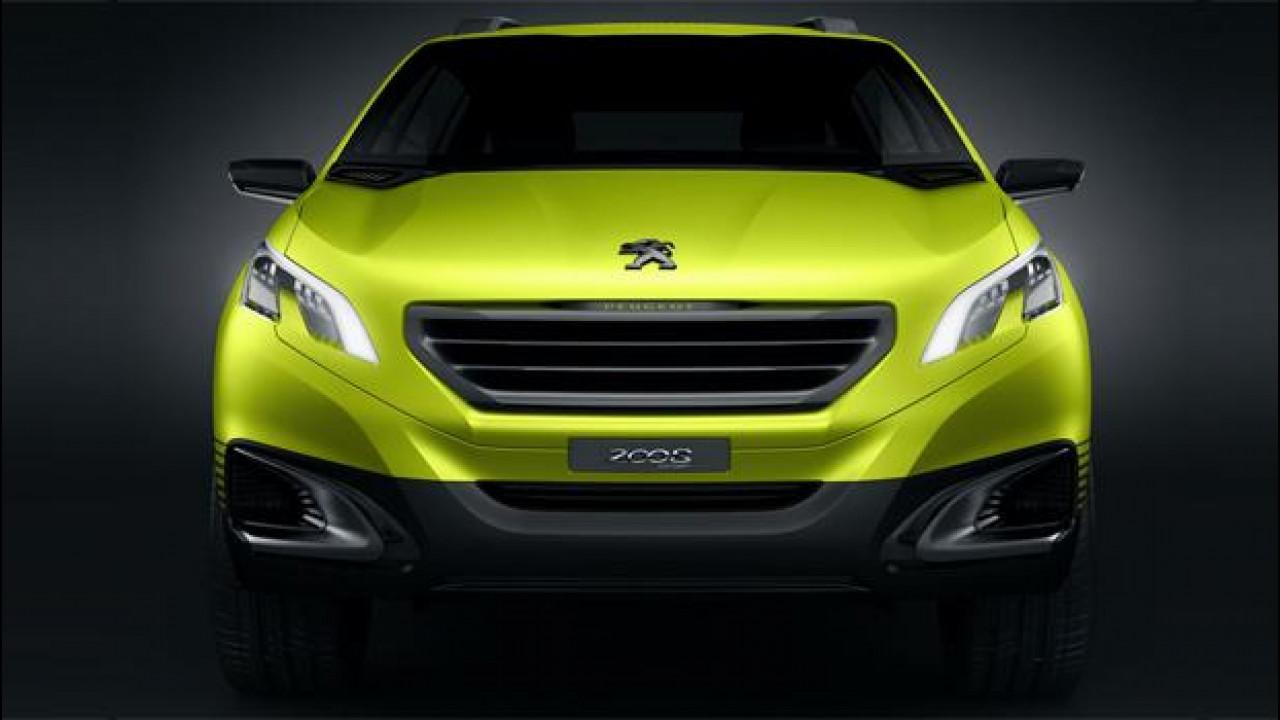 [Copertina] - La Peugeot 2008 Concept ha un tre cilindri turbo sotto il cofano