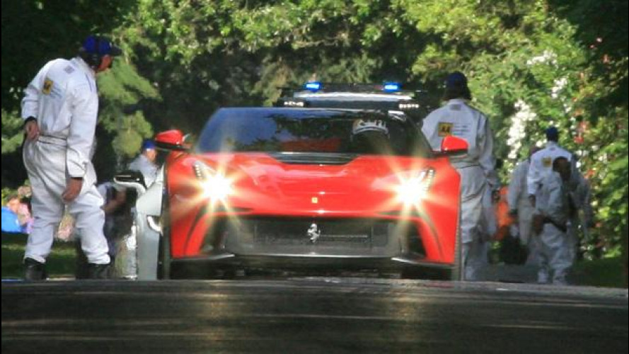 Memorabile Ferrari al Goodwood Festival of Speed