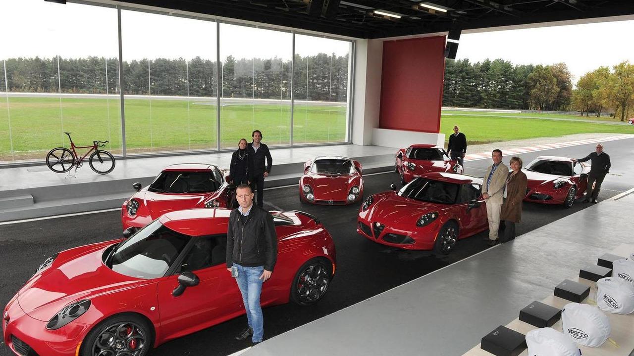 Alfa Romeo 4C launch in Italy