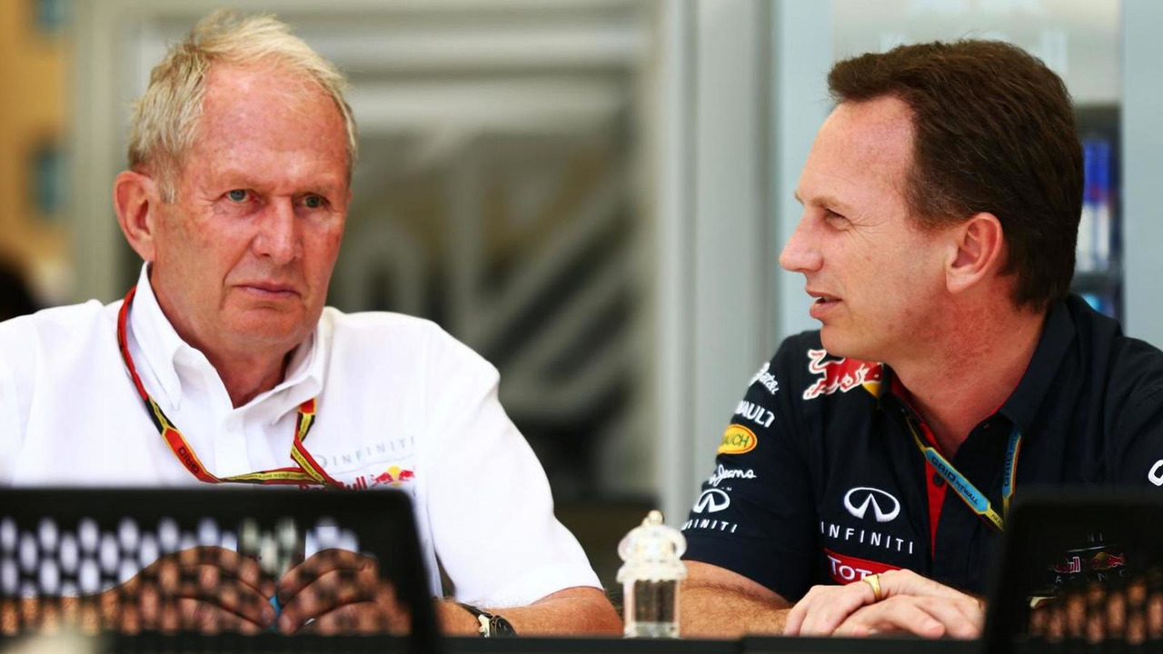 Dr Helmut Marko (AUT) with Christian Horner (GBR) / XPB