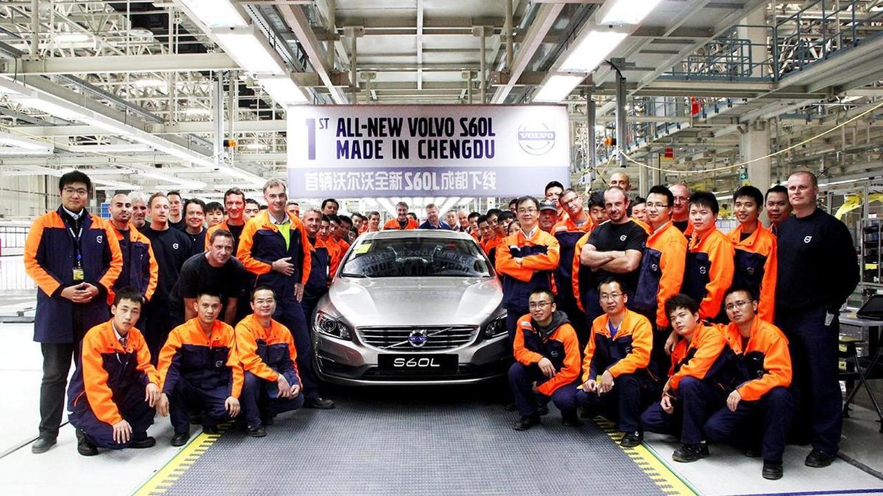 2014 Volvo S60L 12.11.2013