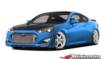 1000 bhp Hyundai Genesis Coupe for SEMA 23.9.2013