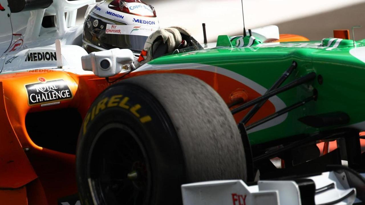 Adrian Sutil 19.11.2010 Abu Dhabi Pirelli tyre test