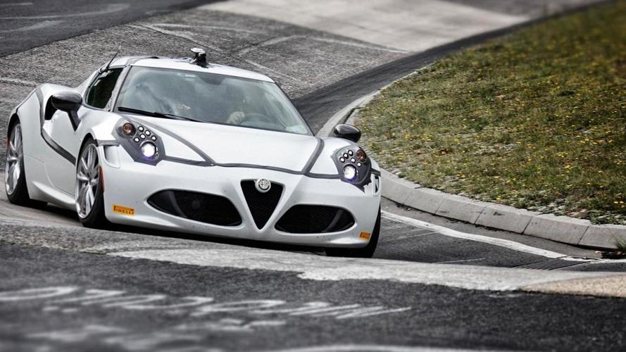 Alfa Romeo confirms 4C's 8:04 Nurburgring lap time