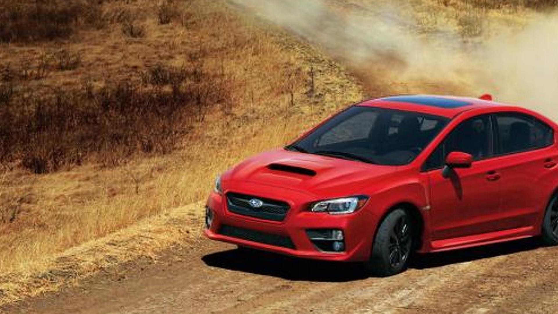 2015 Subaru WRX and WRX STI pricing announced