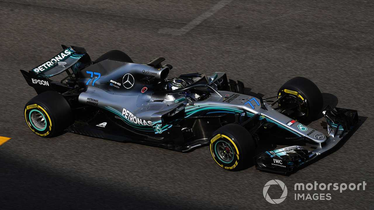 Valtteri Bottas at Abu Dhabi GP 2018