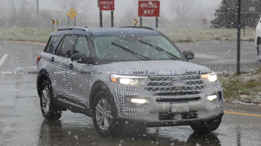 2020 Ford Explorer Spied Partially Uncamouflaged In Public
