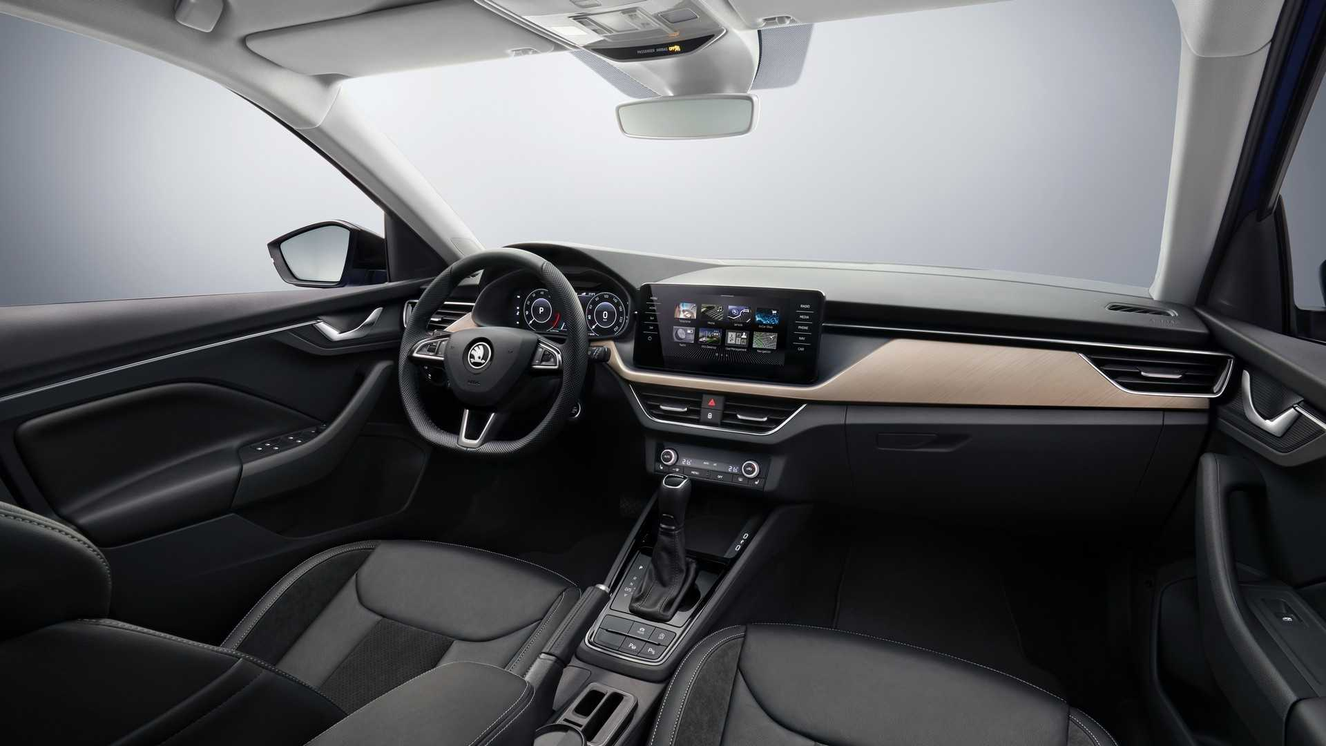 2019 Skoda Scala Reveals Upscale Interior In Official Pics
