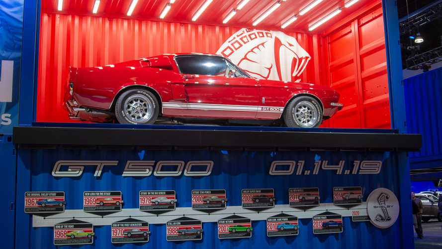 2020 Mustang Shelby GT500 Teased For Detroit Debut [UPDATE]