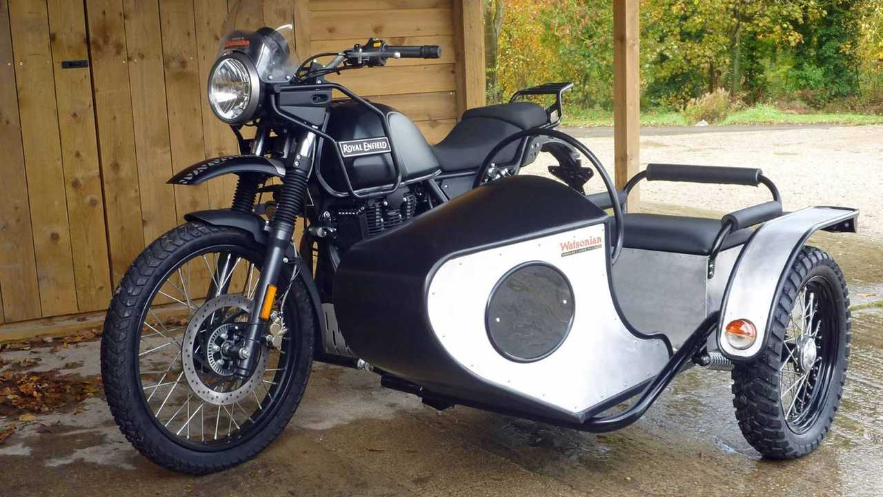Royal Enfield Himalayan With Watsonian Sidecar