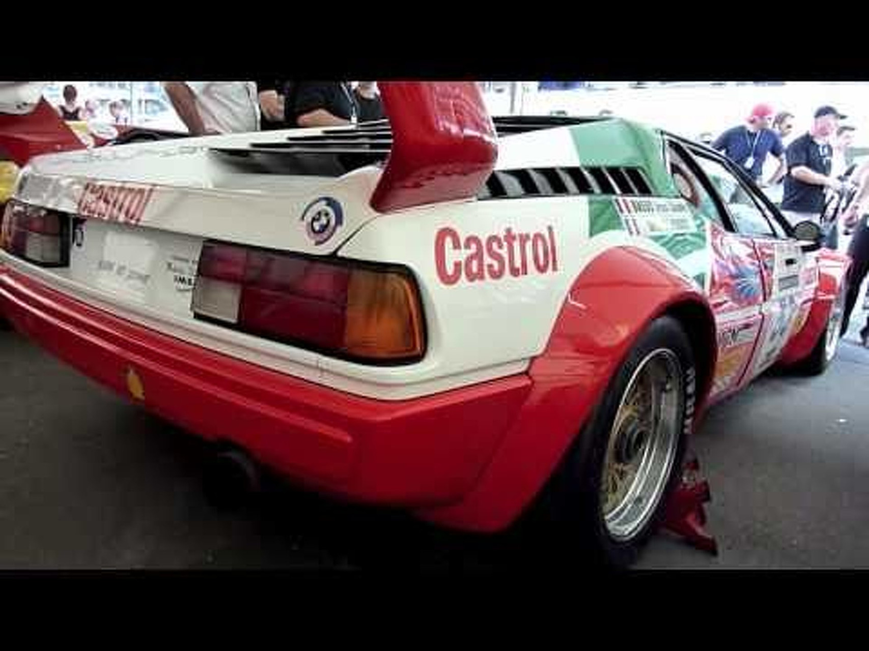 BMW M1 Art Cars & Loud Sound @Le Mans Classic 2010