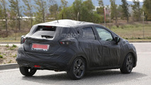 2017 Nissan Micra spied showing Sway concept influences