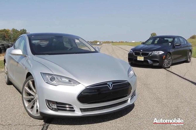 Tesla Model S Outguns BMW M5, Jaws Become Dropped