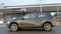 VW entry-level crosssover mule spy photo