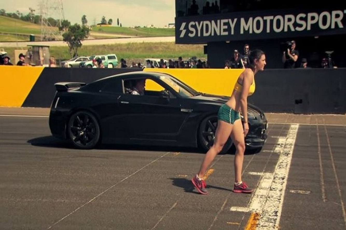 Jeremy Clarkson in a Nissan GT-R vs Track Star [w/Video]