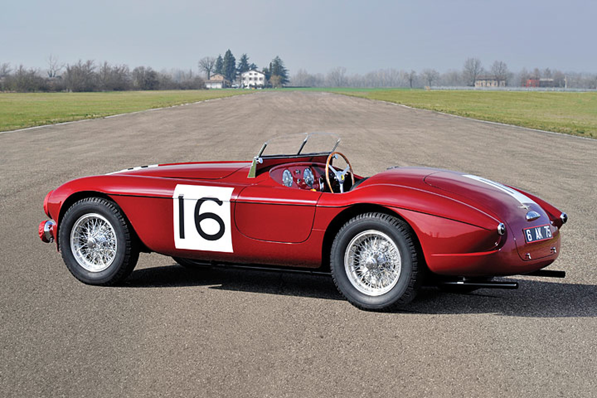 This 1,of,23 Ferrari has a Unique Bugatti Connection
