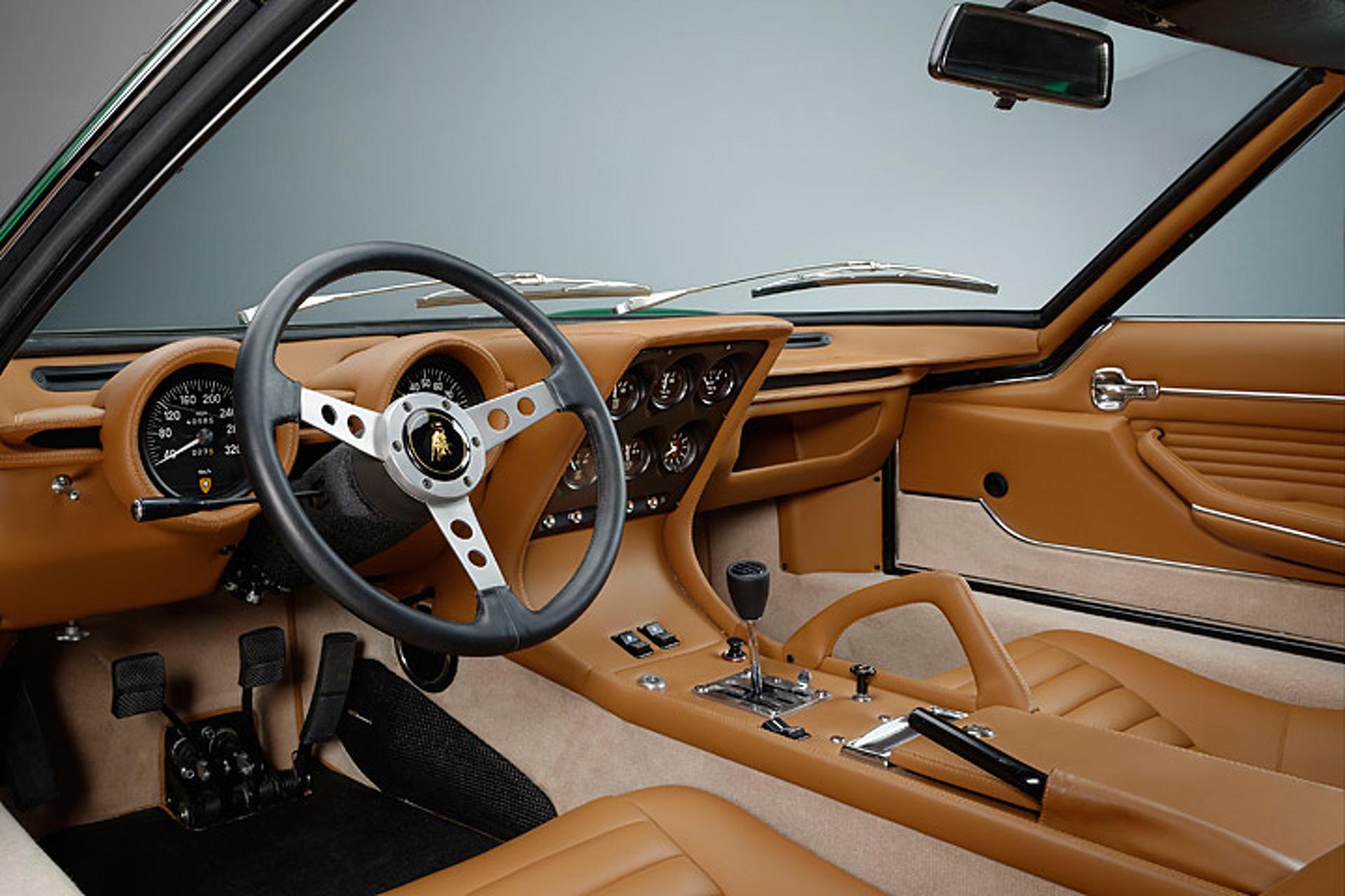 Lamborghini Has Returned this '71 Miura to Like-New Condition