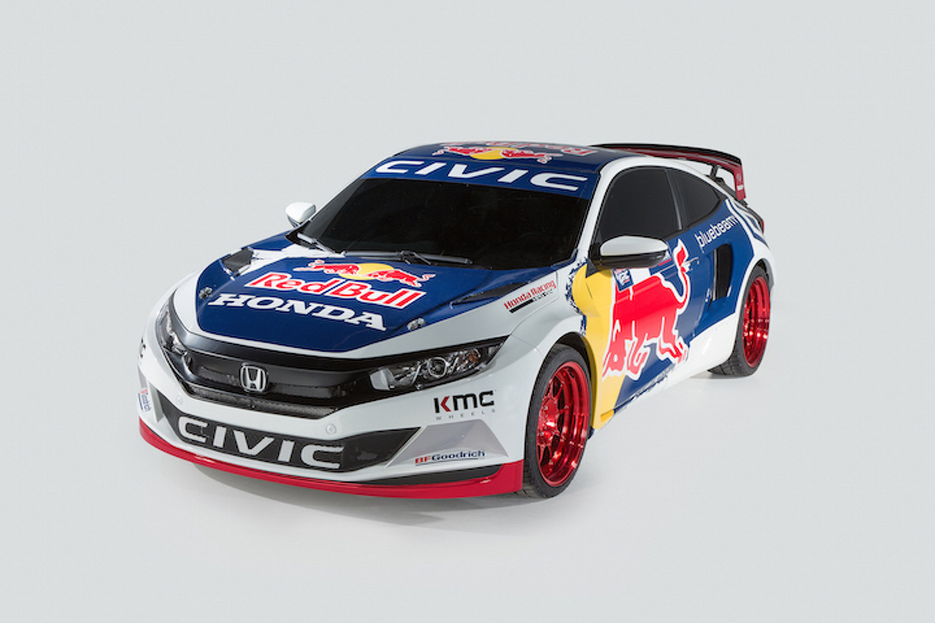 600HP Honda Civic Coupe Gears Up for Global Rallycross