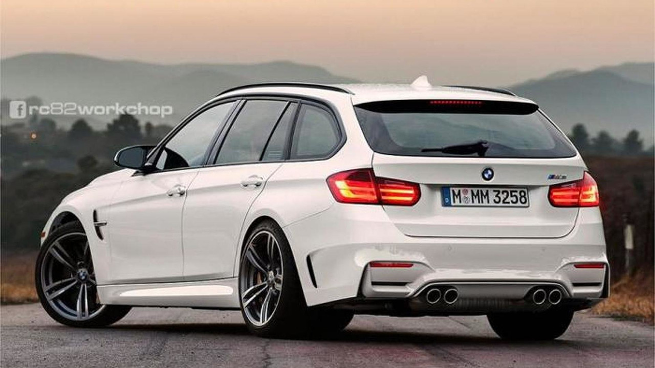 BMW M3 Touring rendering / rc82workchop