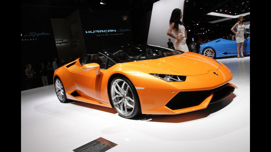 Lamborghini Huracan Spyder, bella fra le belle [VIDEO]