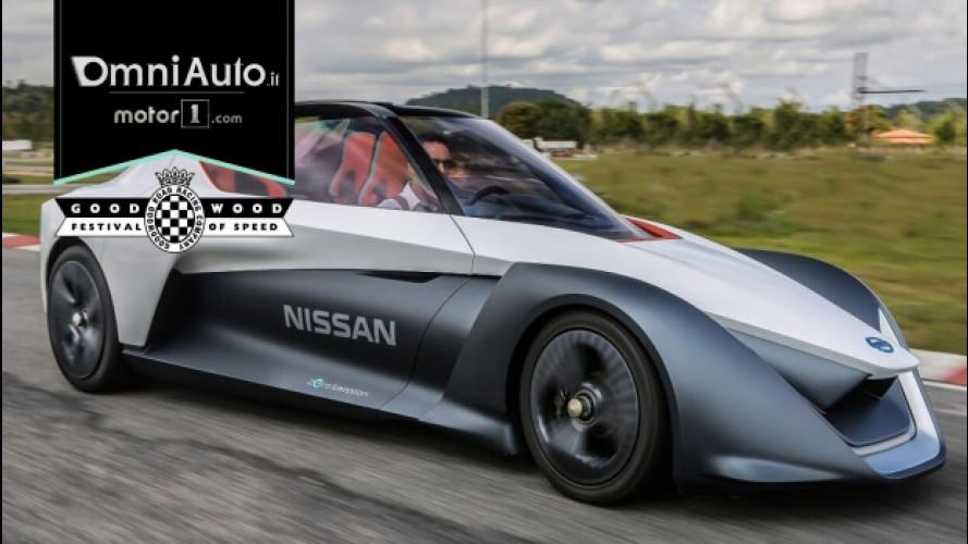 Goodwood FOS 2017, la Nissan BladeGlider elettrizza la cronoscalata
