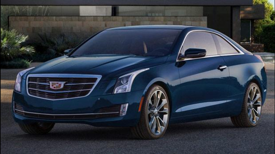 Cadillac ATS Coupé, prezzo da 40.482 euro