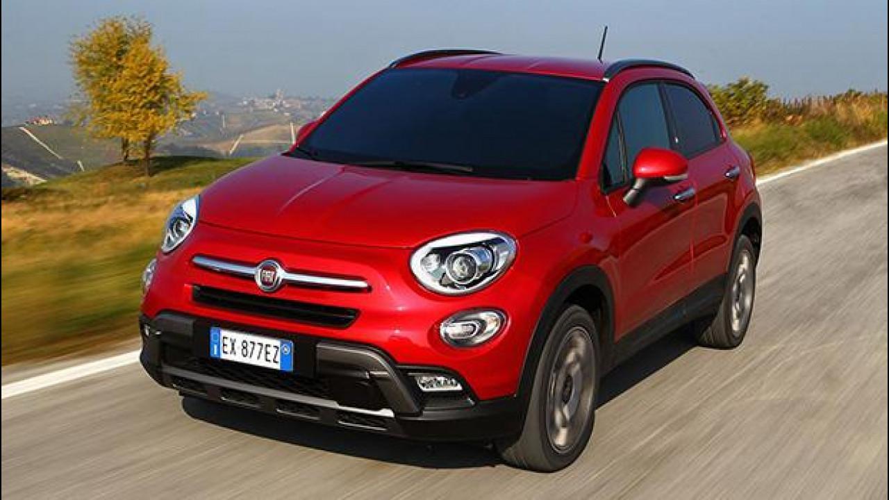 """[Copertina] - Fiat 500X, l'unica a calare un """"tris"""" di diesel"""