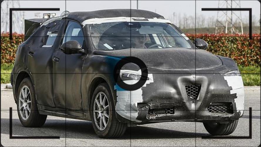 Alfa Romeo Stelvio, il SUV prende forma