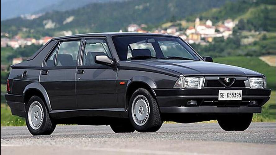Alfa Romeo Giulia, trenta anni dopo la 75