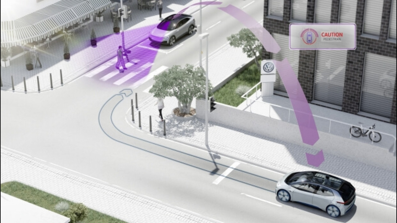 [Copertina] - Volkswagen, dal 2019 le sue auto parleranno fra di loro