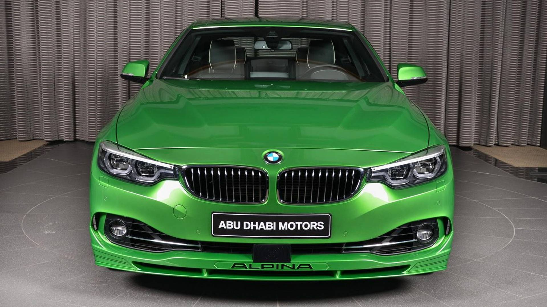 BMW Alpina B S Rallye Green Is Exclusivity At Its Finest - Alpina motors