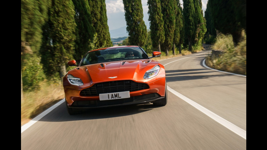 Aston Martin DB11, la nuova GT da 608 CV [VIDEO]