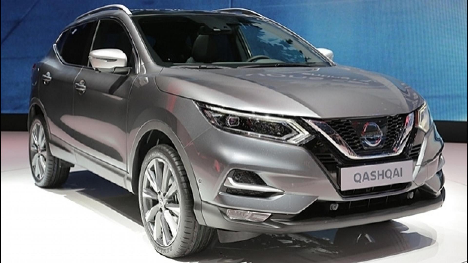 Schema Elettrico Nissan Qashqai : Nissan qashqai restyling differenze per rinnovarsi