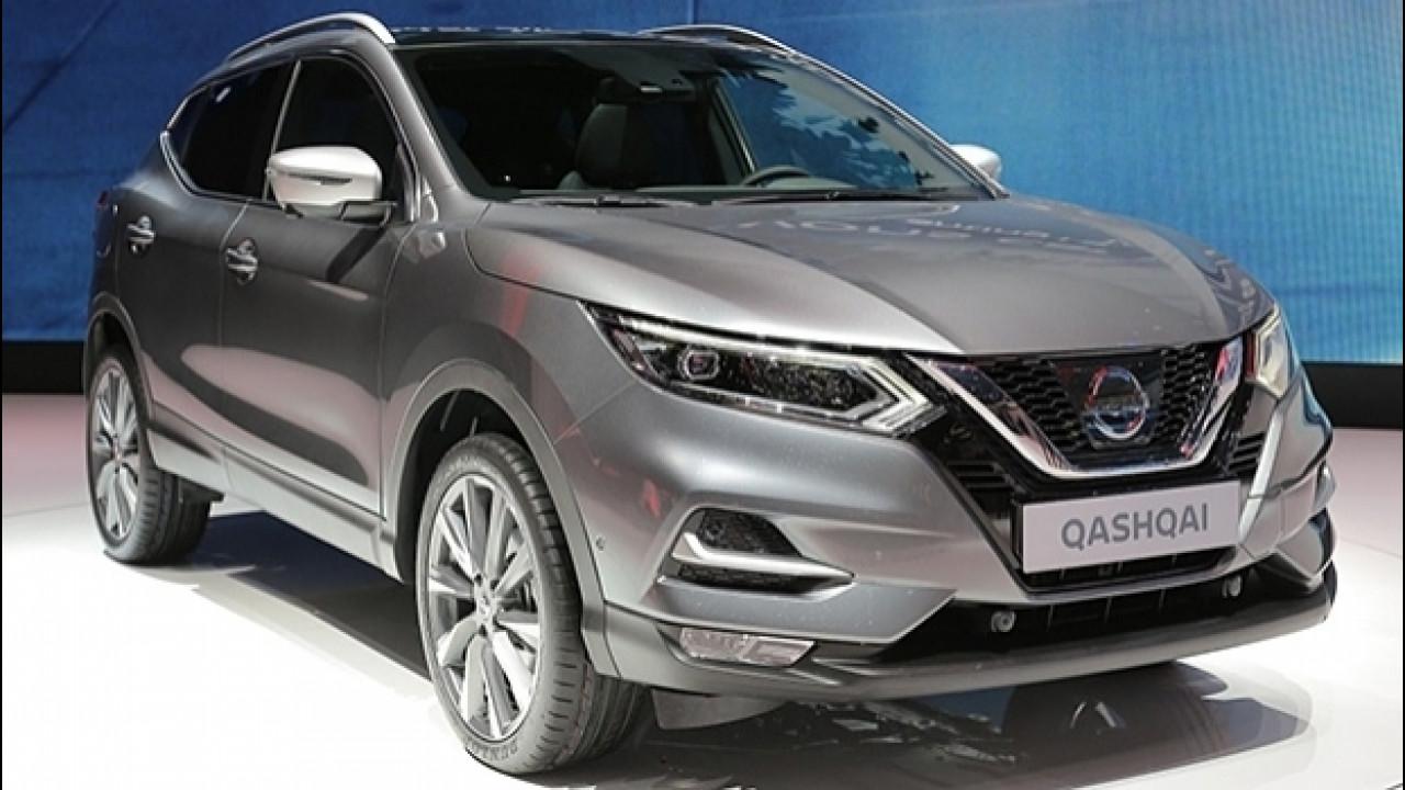 [Copertina] - Nissan Qashqai restyling, 10 differenze per rinnovarsi
