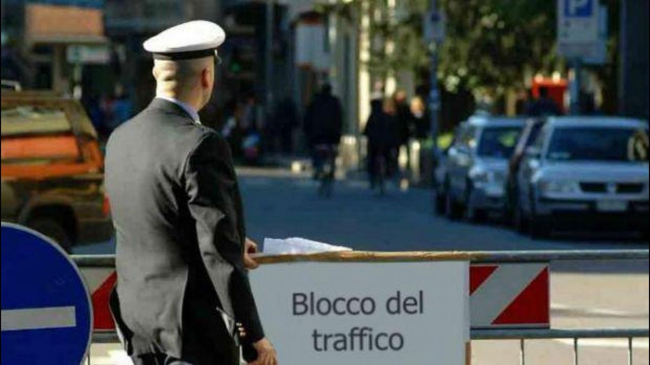 [Copertina] - Blocco del traffico Domenica 31 gennaio a Roma e Modena
