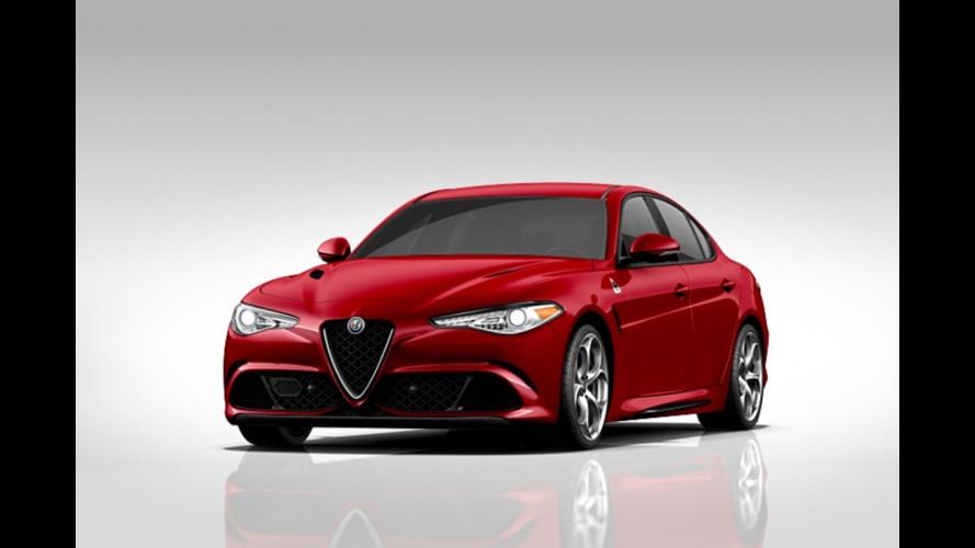 Alfa Romeo Giulia Quadrifoglio, il configuratore USA è online