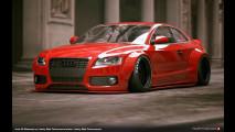 Audi S5, Liberty Walk lavora a quella extralarge