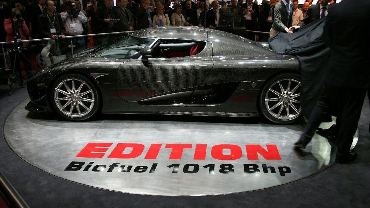 Koenigsegg CCXR Edition unveiled at Geneva