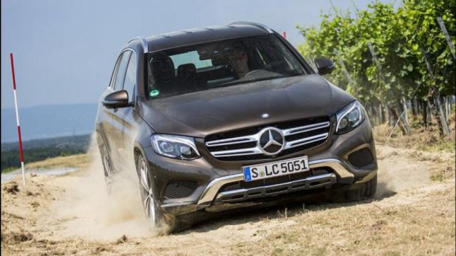 Mercedes GLC, arriva l'elettrica nel 2019