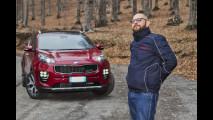 Kia Sportage, la prova del piacere di guida