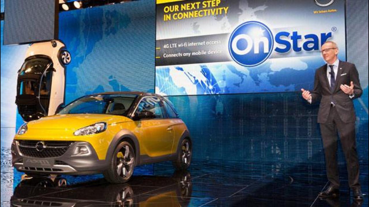 [Copertina] - Opel: dal 2015 con connettività OnStar
