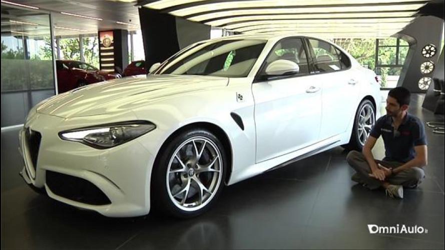 Alfa Giulia, un design che fa discutere [VIDEO]