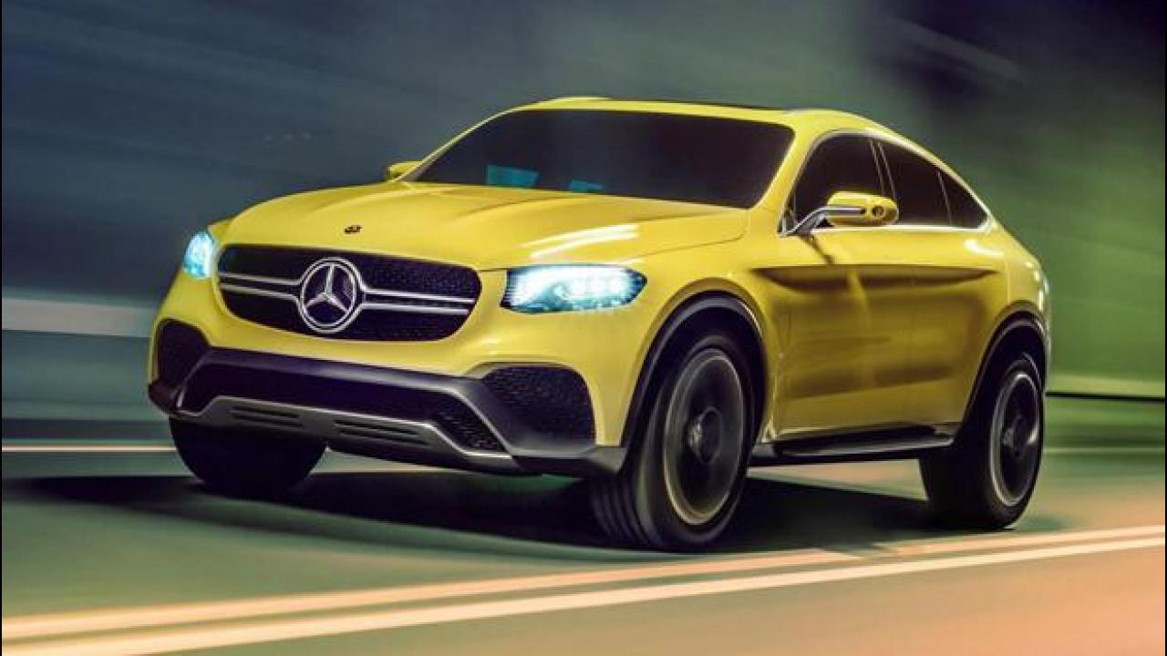 [Copertina] - Mercedes GLC Coupè concept