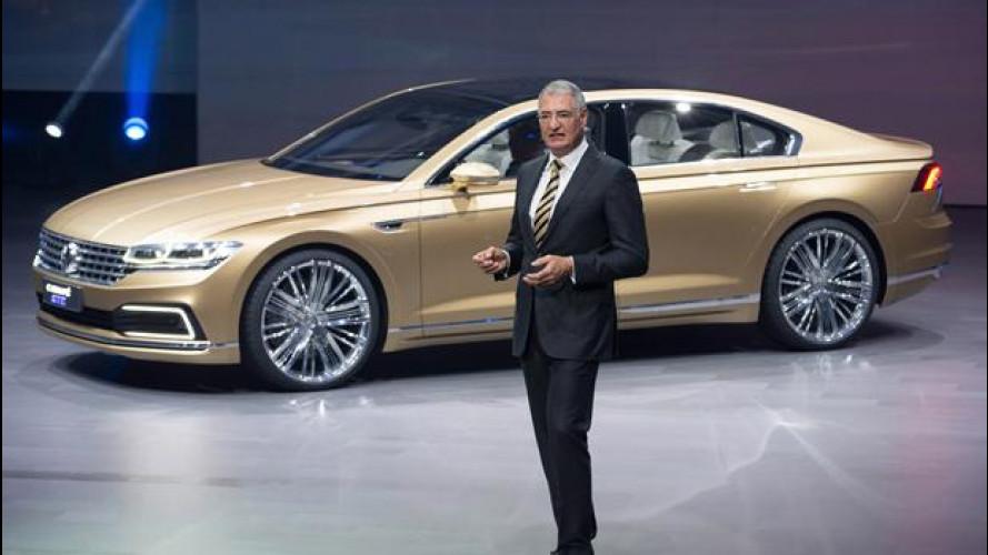 "Salone di Shanghai: Volkswagen C Coupé GTE, la berlina ""cinese"""