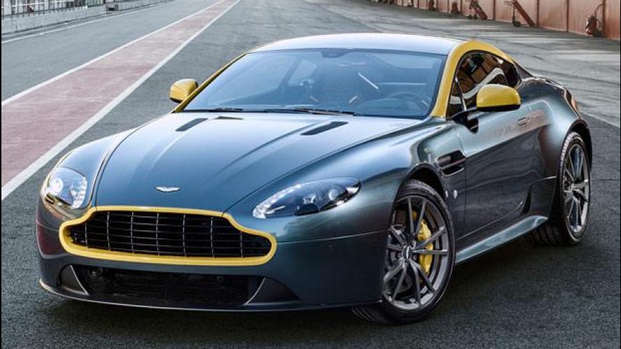 Aston Martin V8 Vantage N430, pensando alla pista