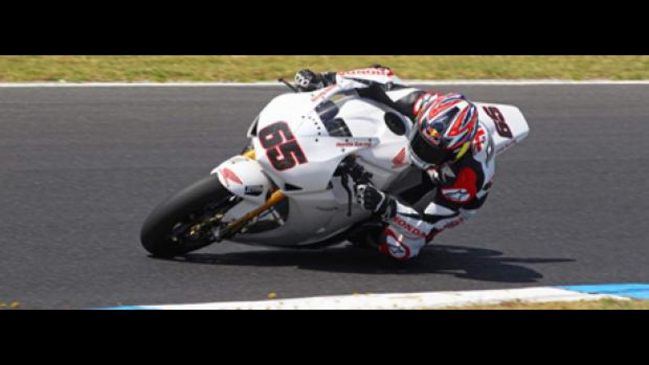 WSBK 2012: Honda Ten Kate, secondo giorno di test a Phillip Island
