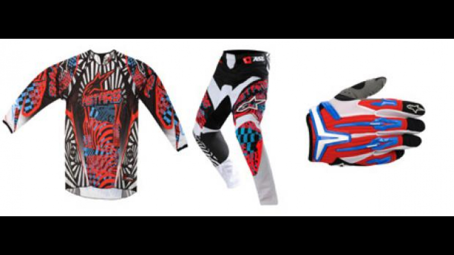 "Alpinestars ""Charger"" e stivali ""Tech 10"""
