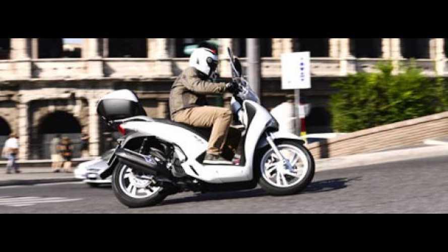 Nuovi Honda SH125i ABS e SH150i ABS 2013 - TEST