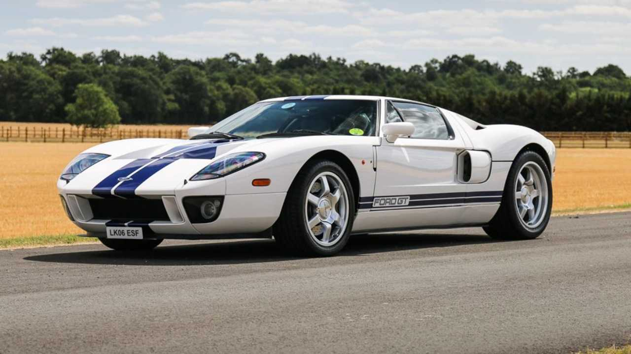 Rare UK Ford GT still up for grabs
